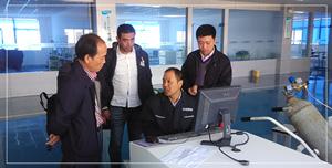 红外碳硫分析仪生产厂家 埃及朋友被杰博所征服