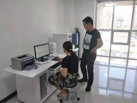 杰博红外碳硫分析仪入驻宝丰质量技术监督局